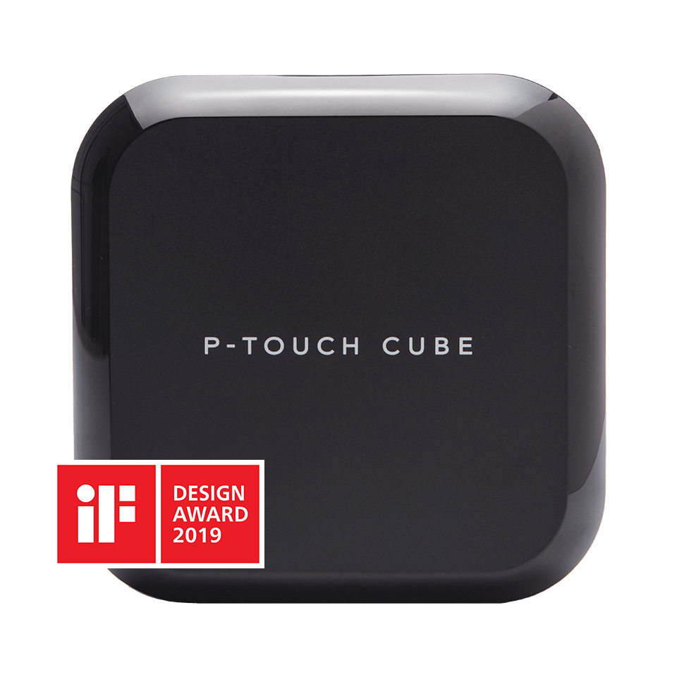 Brother P-touch CUBE Plus labelling machine for PC, Mac, smartphone