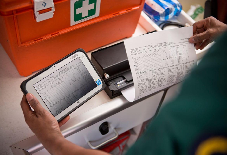 Printing care plan