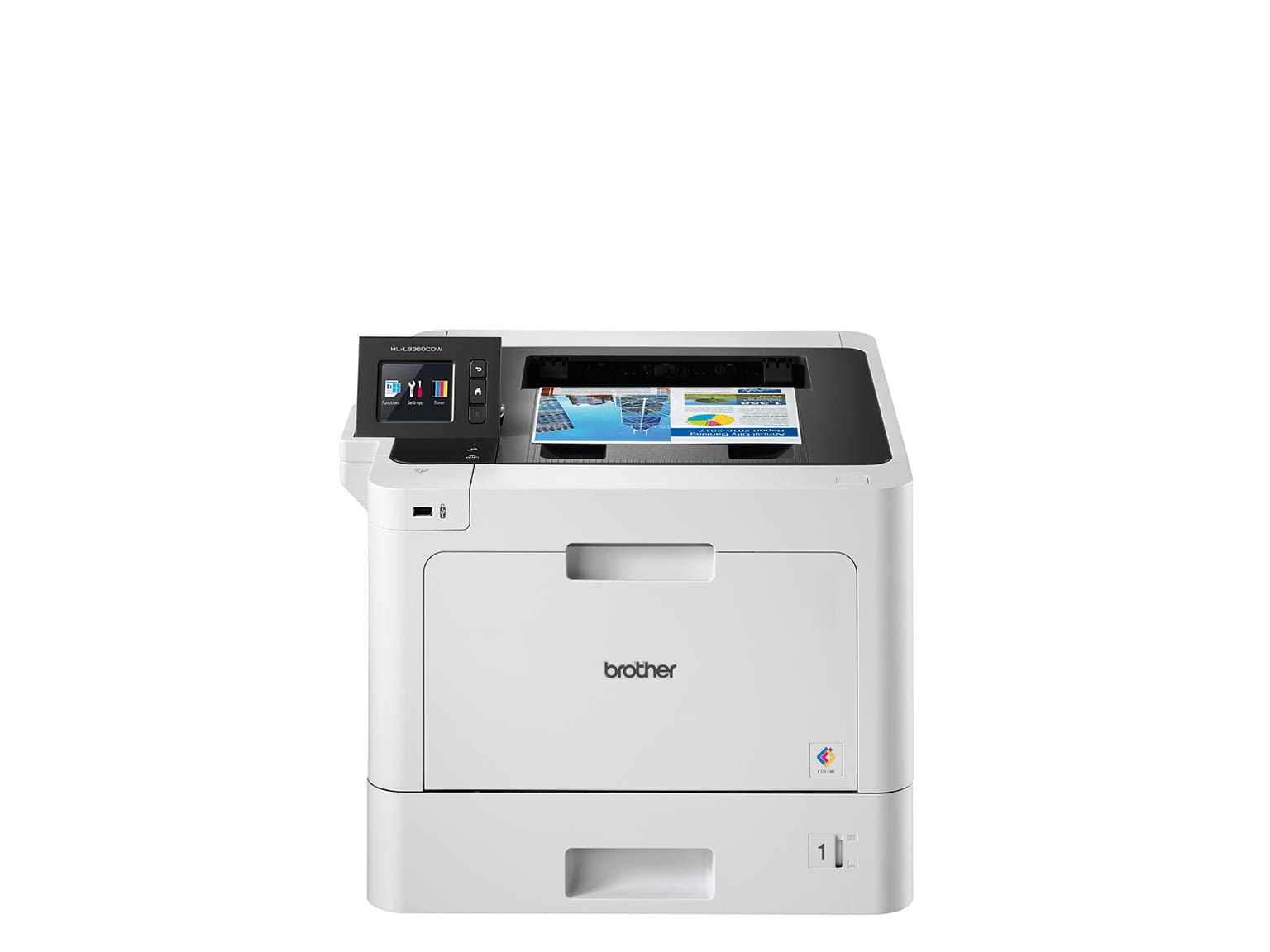 Brother print only colour laser printer