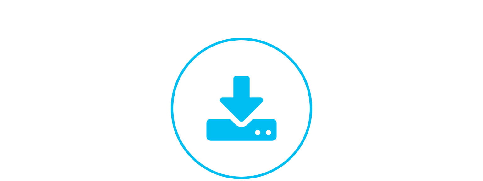 support and downloads icon support page