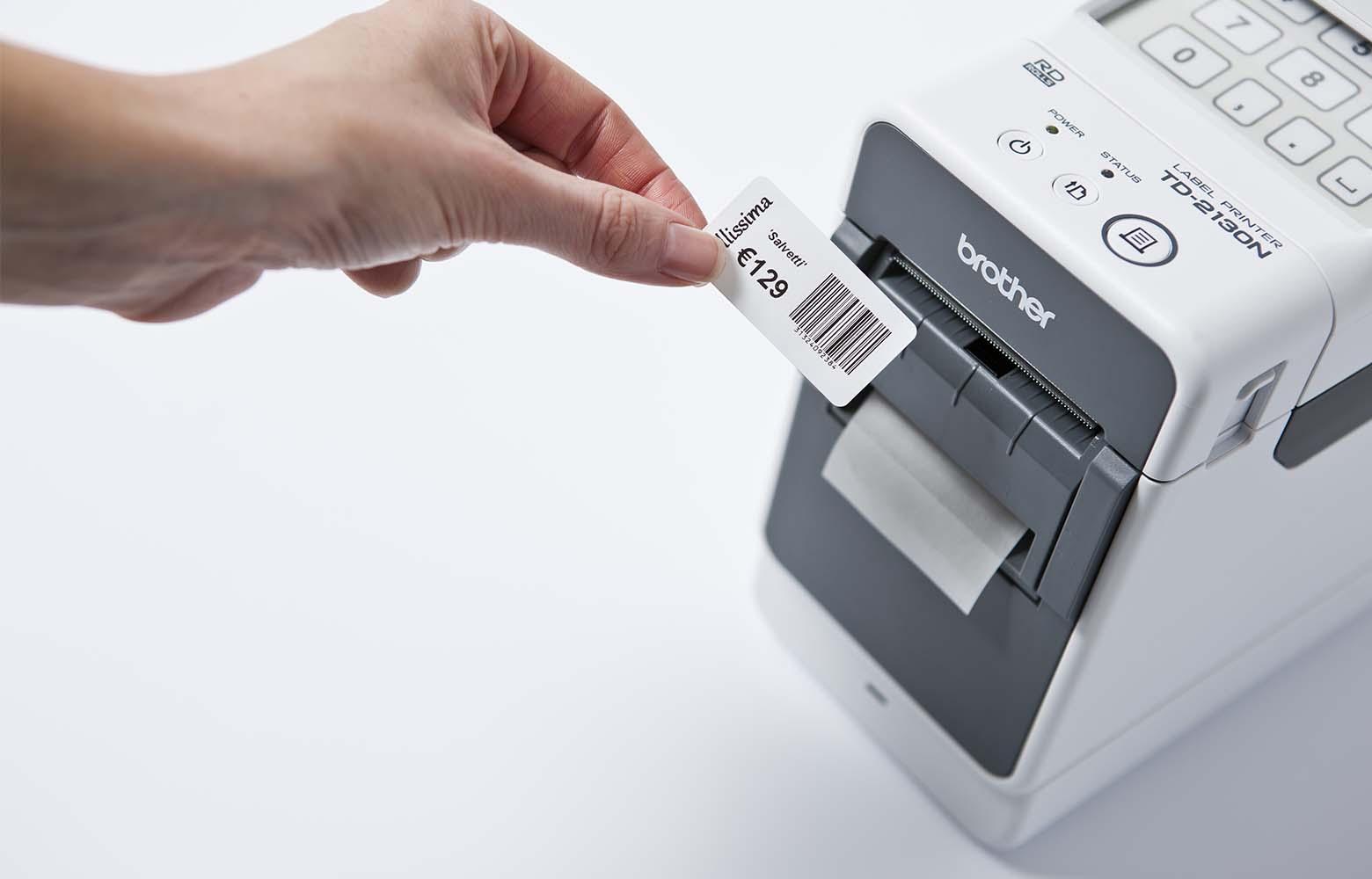 TD labelling machine
