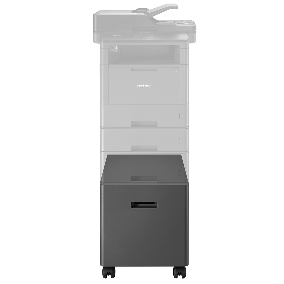 Cabinet compatible with the L5000 mono laser printers 5