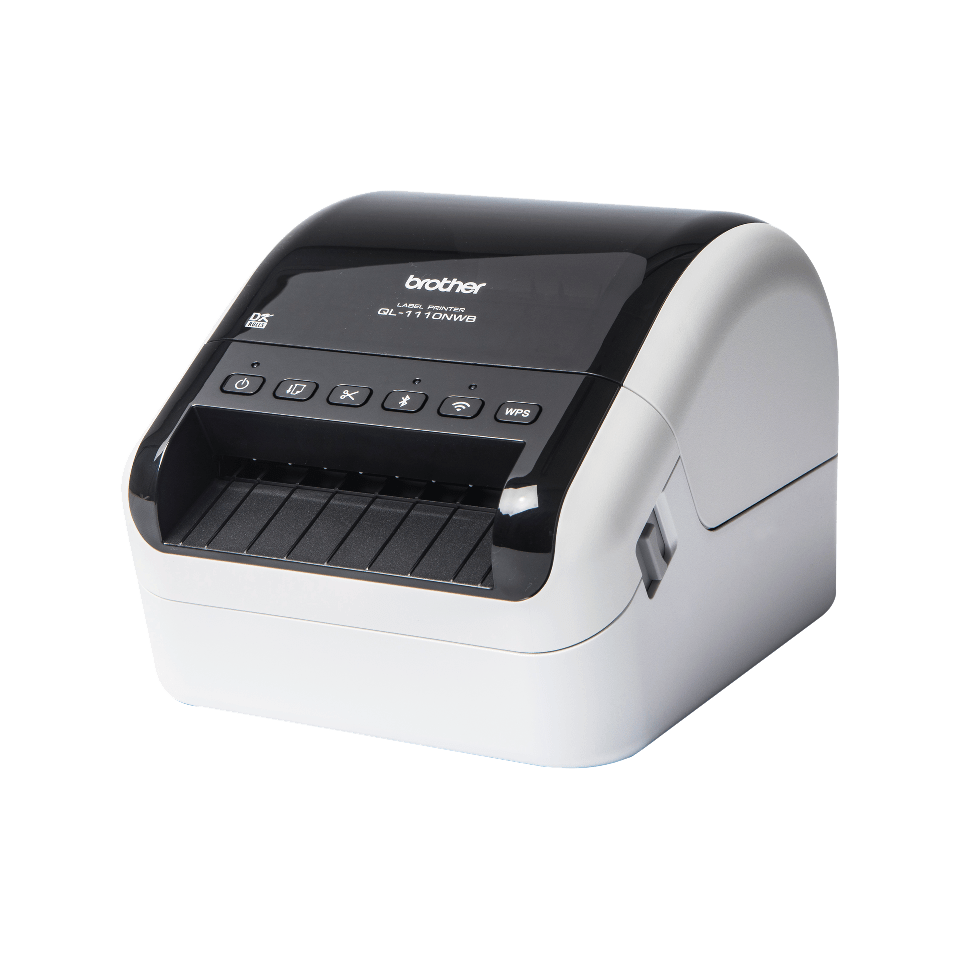 QL-1110NWB wide format shipping barcode label printer