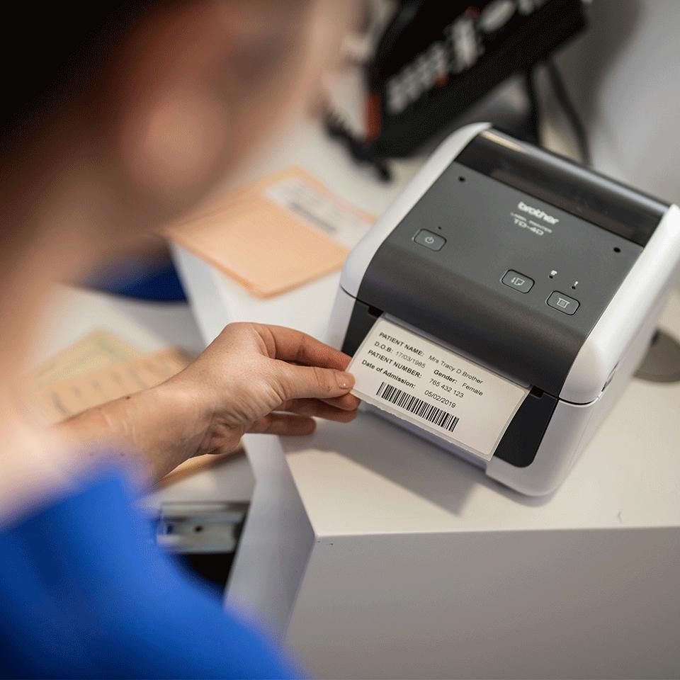 Brother TD-4520DN Professional Network Desktop Label Printer 6