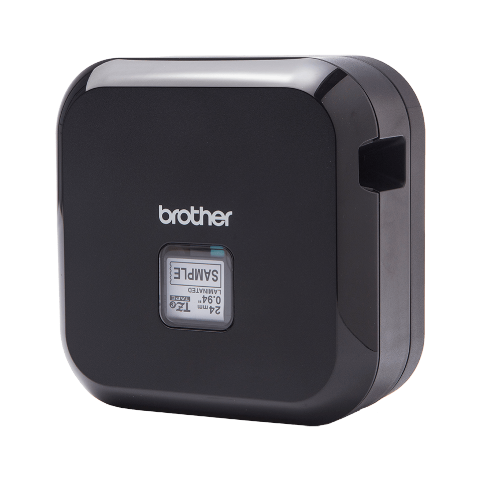 P-touch CUBE Plus rechargeable label printer with Bluetooth 3