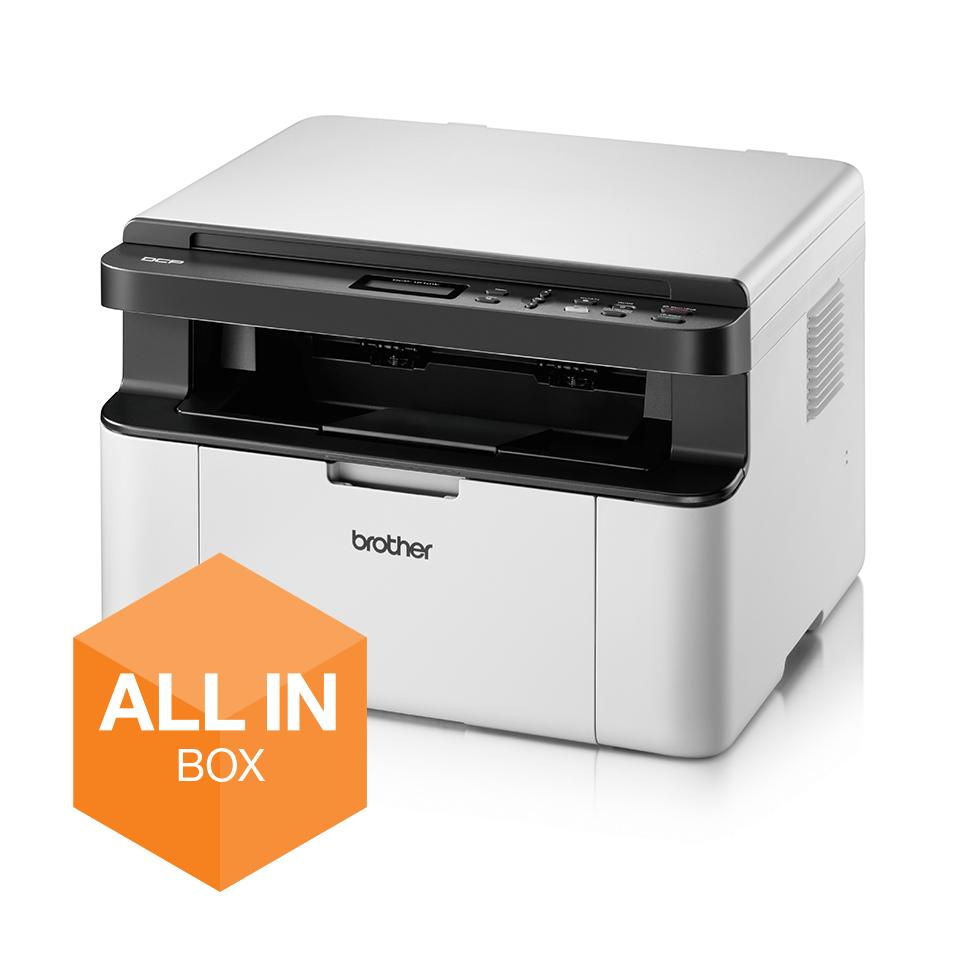 Wireless 3-in-1 Mono Laser Printer - DCP-1610WVB All in Box Bundle