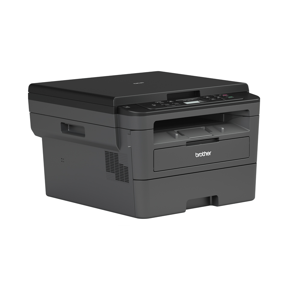Compact 3-in-1 Mono Laser Printer - Brother DCPL2510D 3