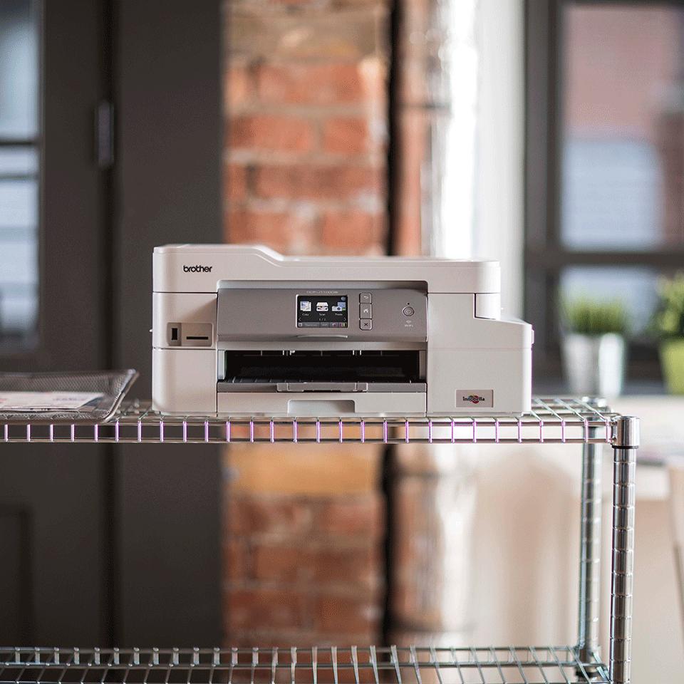 DCP-J1100DW All In Box Bundle. Wireless 3-in-1 Colour Inkjet Printer  4