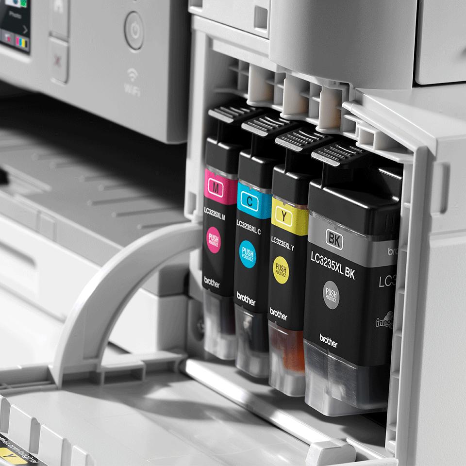 DCP-J1100DW All In Box Bundle. Wireless 3-in-1 Colour Inkjet Printer  6