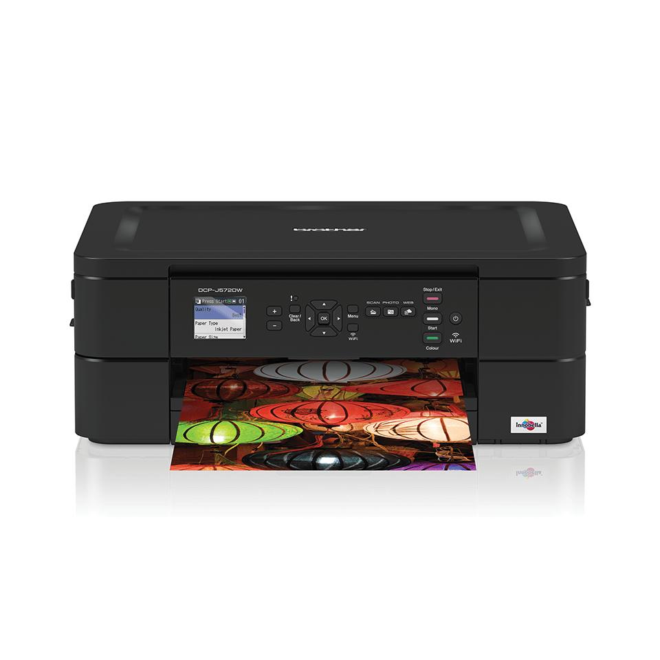 Wireless 3-in-1 Colour Inkjet Printer DCP-J572DW