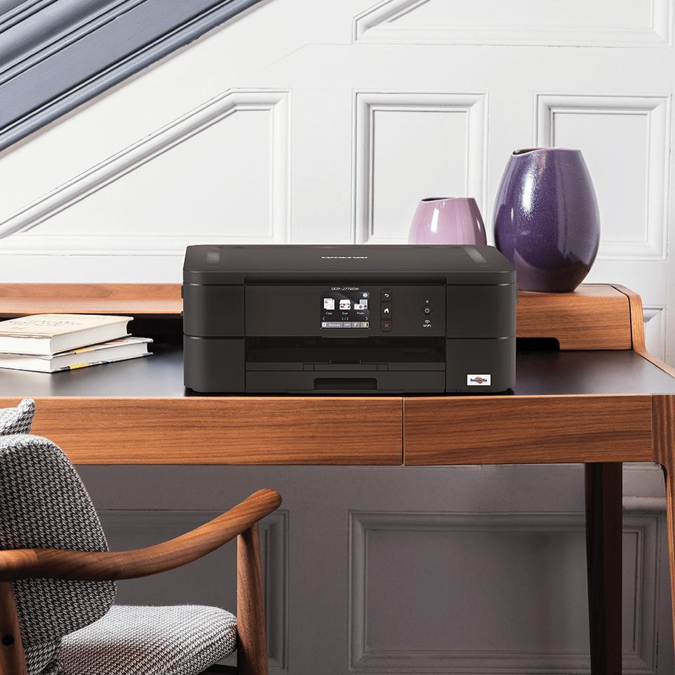 Wireless 3-in-1 colour inkjet printer DCP-J772DW 6