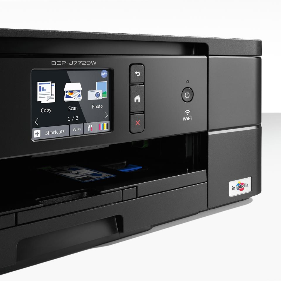 Wireless 3-in-1 colour inkjet printer DCP-J772DW 4