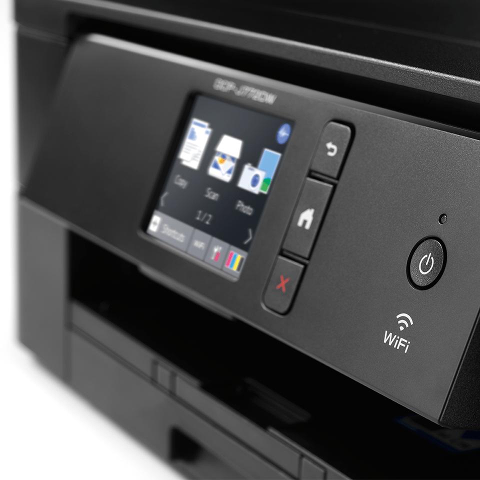 Wireless 3-in-1 colour inkjet printer DCP-J772DW 5