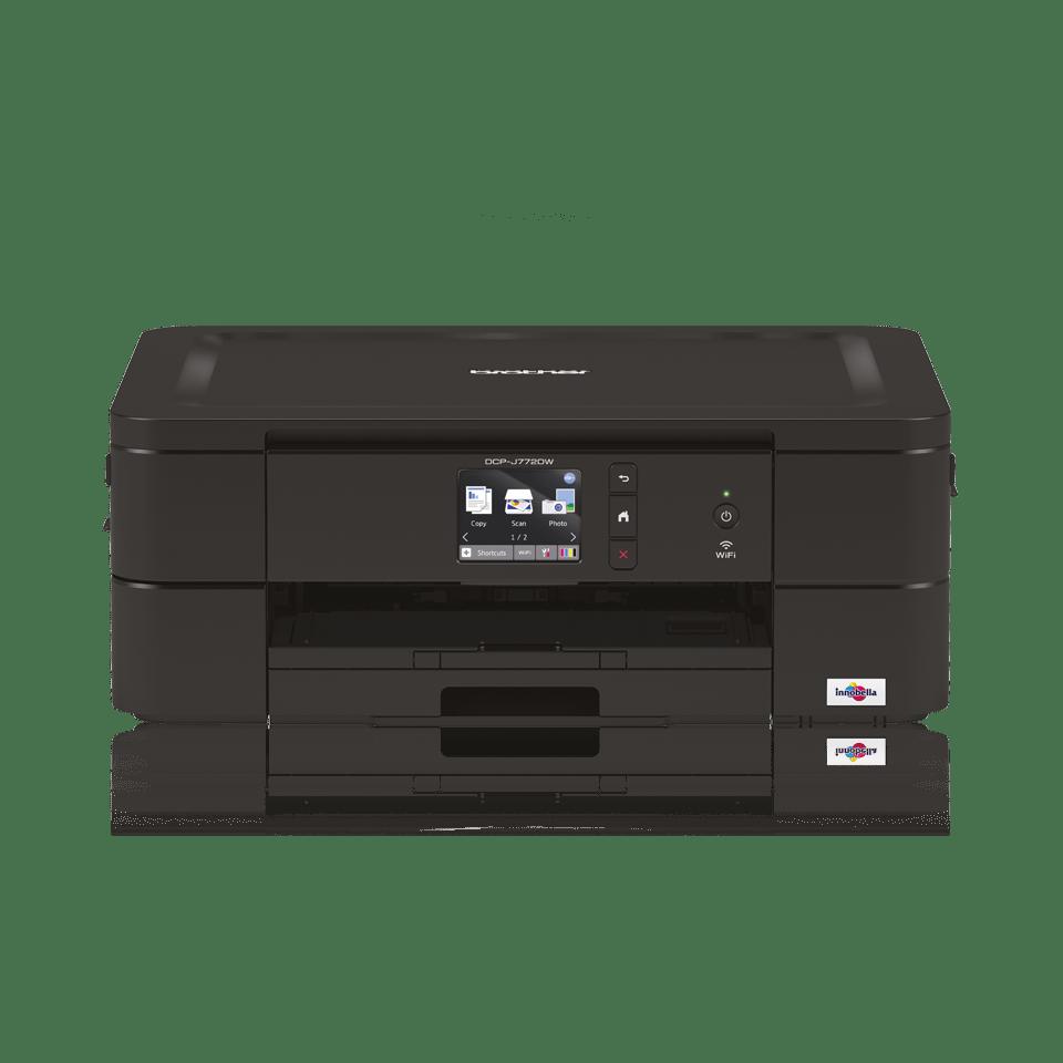 Wireless 3-in-1 colour inkjet printer DCP-J772DW