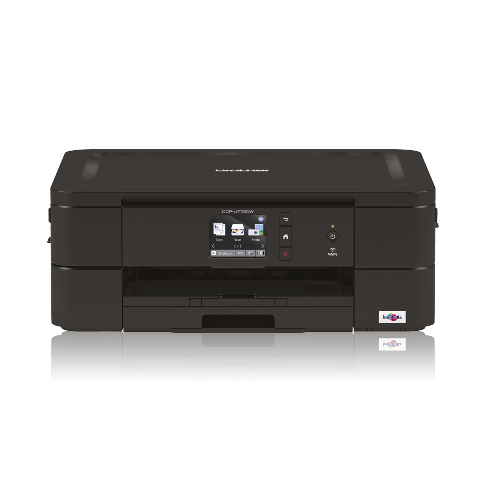 Wireless 3-in-1 colour inkjet printer DCP-J772DW
