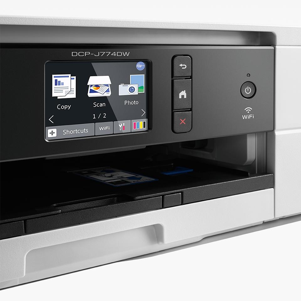 Wireless 3-in-1 colour inkjet printer DCP-J774DW 3