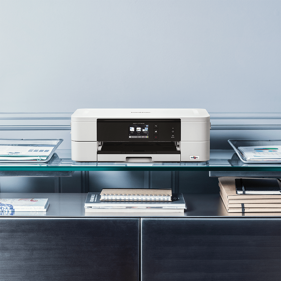 Wireless 3-in-1 colour inkjet printer DCP-J774DW 5