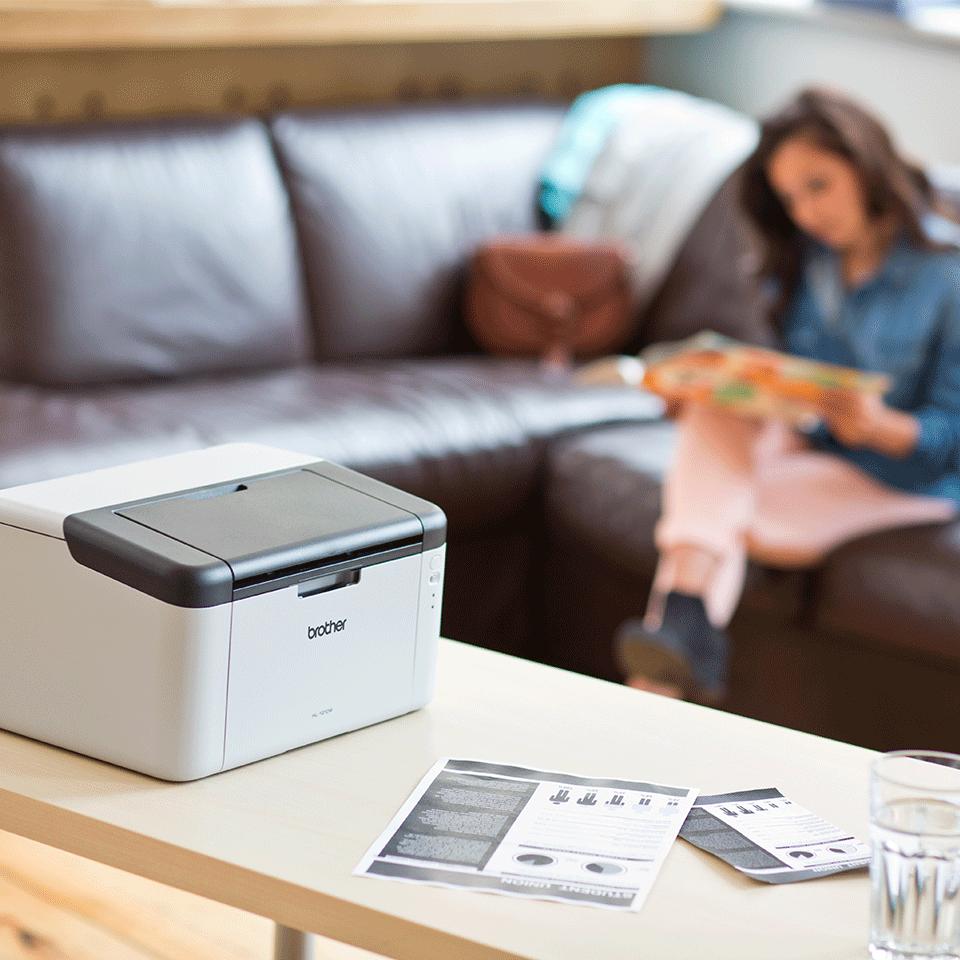 Wireless Mono Laser Printer - HL-1210WVB All in Box Bundle 3