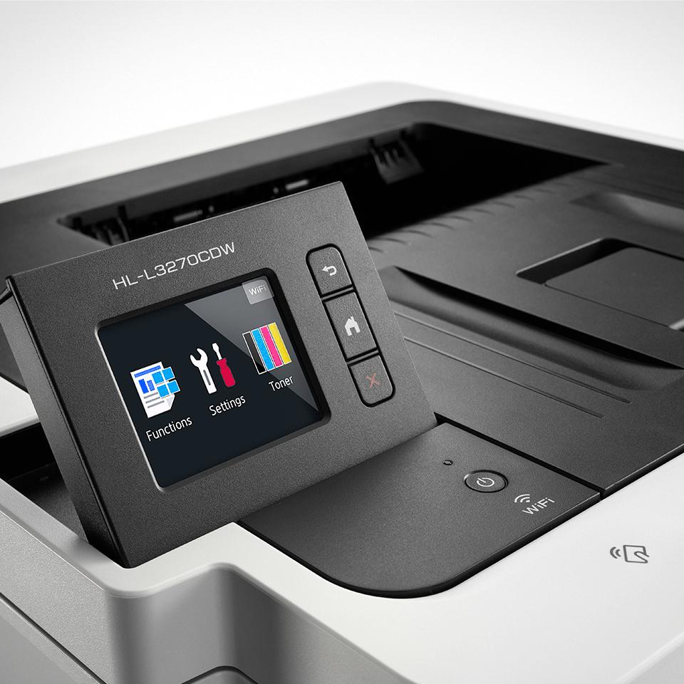 HL-L3270CDW Colour Wireless LED printer 3