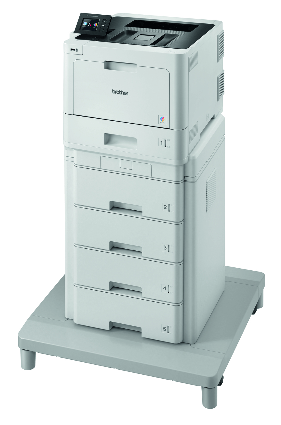 Brother HL-L8360CDWMT Professional Colour, Duplex, Wireless Laser Printer + Tower Tray + Tower Tray Connector 2