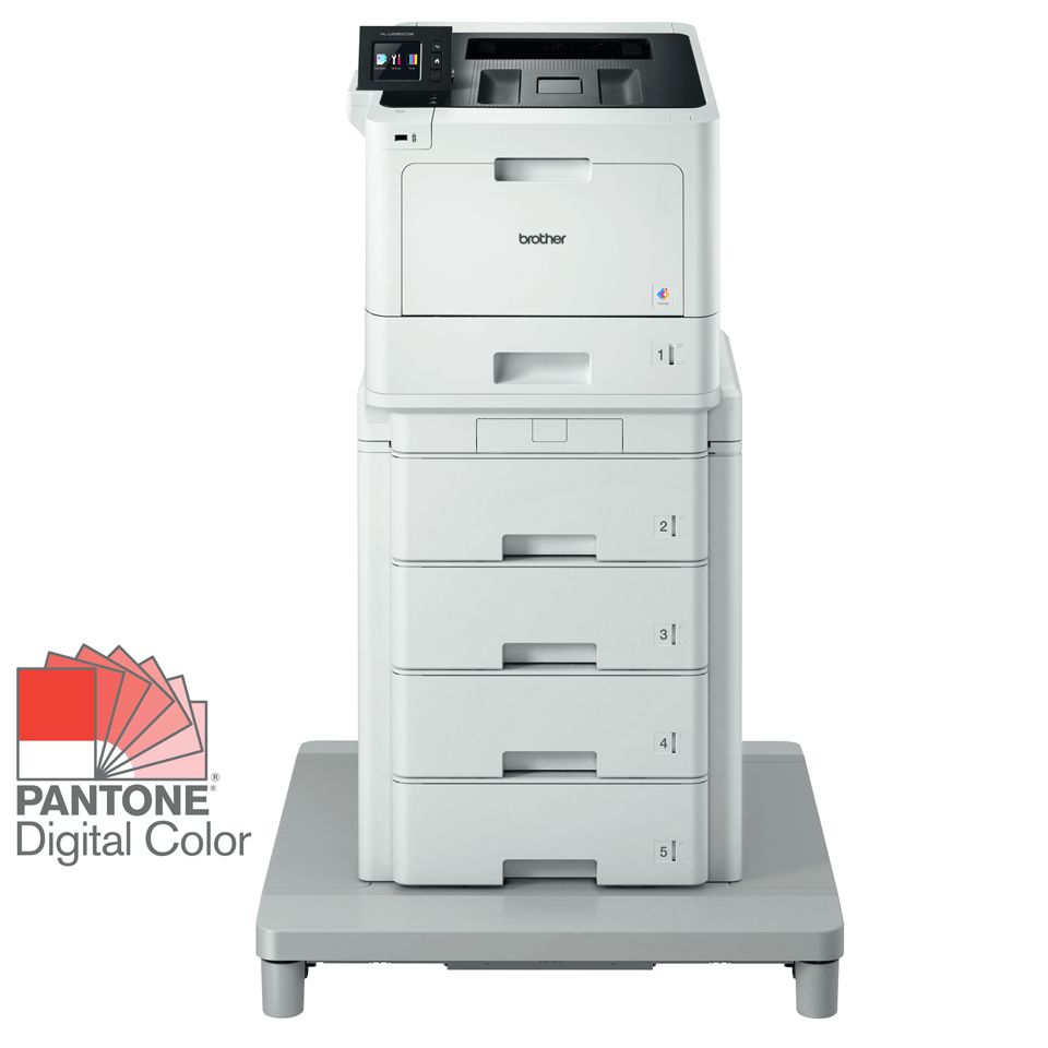 Brother HL-L8360CDWMT Professional Colour, Duplex, Wireless Laser Printer + Tower Tray + Tower Tray Connector
