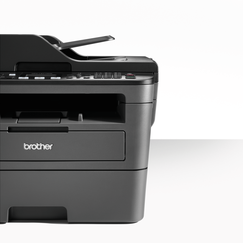 Compact Wireless 4-in-1 Mono Laser Printer - Brother MFC-L2710DW 4