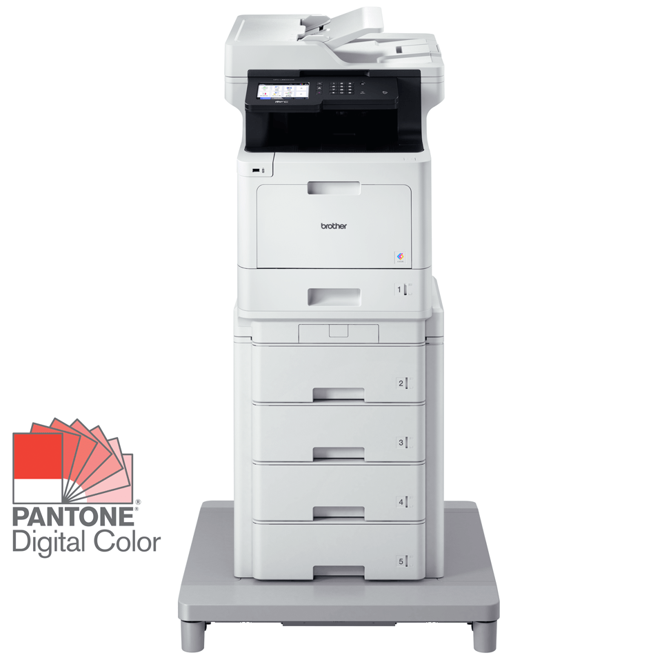 Brother MFC-L8900CDWMT Professional Colour, Duplex, Wireless Laser All-in-one Printer + Tower Tray + Tower Tray Connector