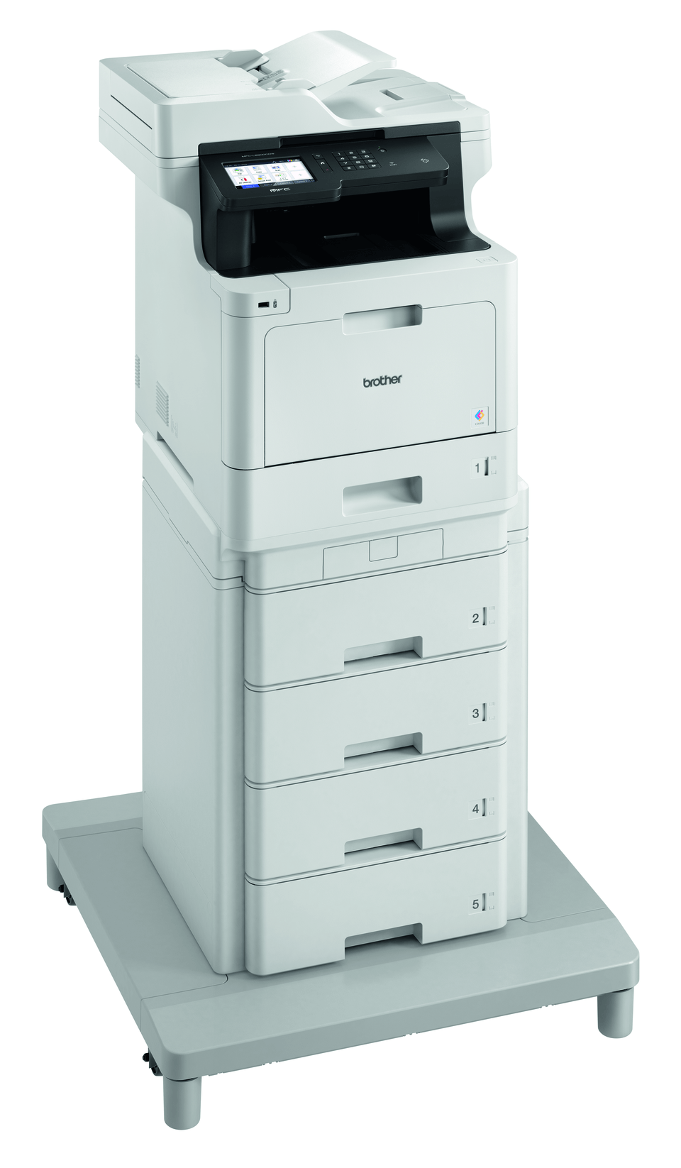 Brother MFC-L8900CDWMT Professional Colour, Duplex, Wireless Laser All-in-one Printer + Tower Tray + Tower Tray Connector 3