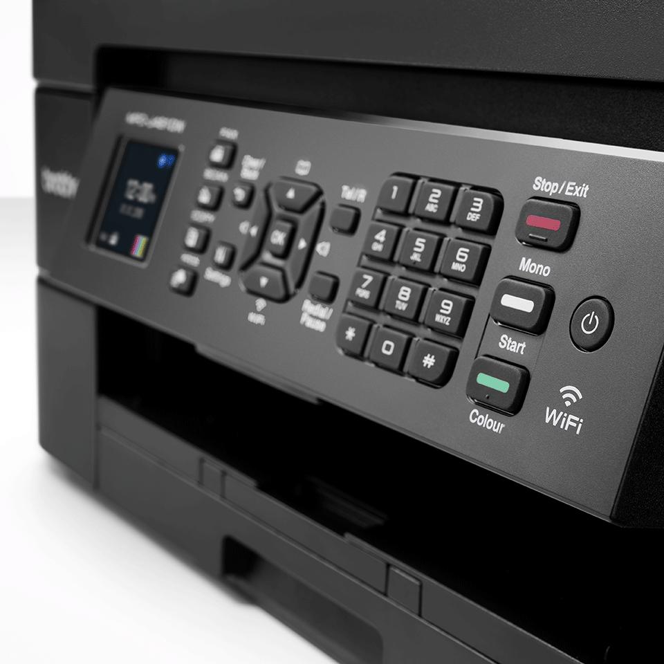 Wireless 4-in-1 Colour Inkjet Printer MFC-J491DW 5