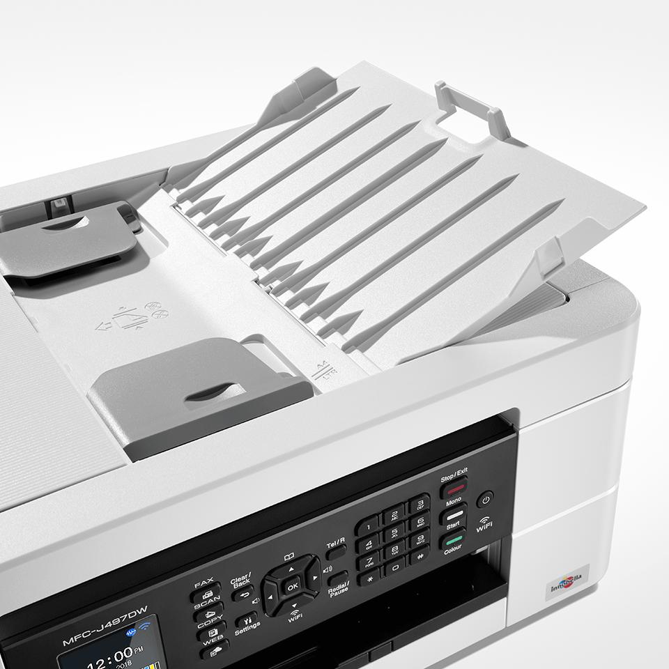 Wireless 4-in-1 Colour Inkjet Printer MFC-J497DW 5