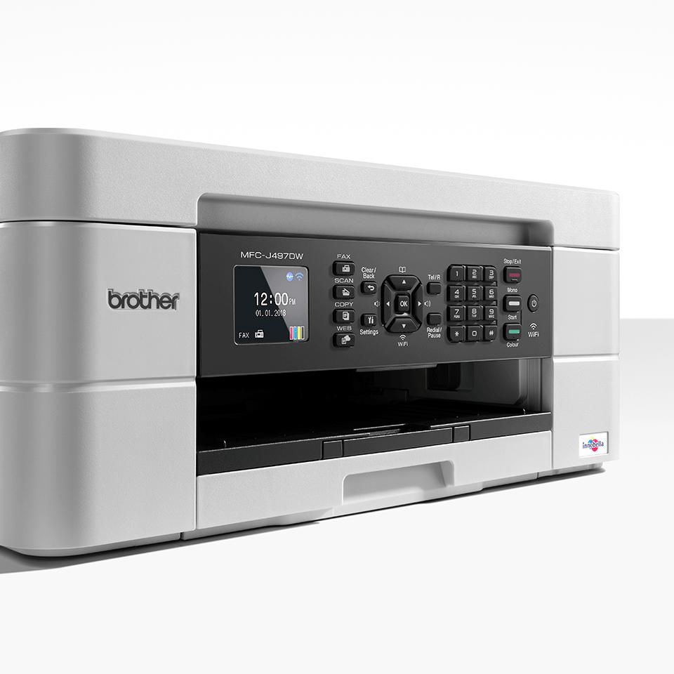 Wireless 4-in-1 Colour Inkjet Printer MFC-J497DW 6