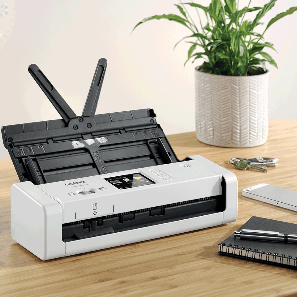 ADS-1700W Smart, Compact Document Scanner 6
