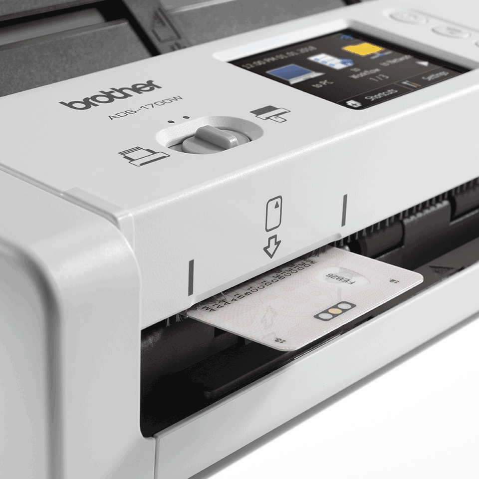ADS-1700W Smart, Compact Document Scanner 7