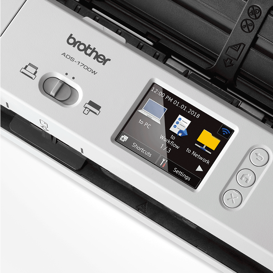 ADS-1700W Smart, Compact Document Scanner 8