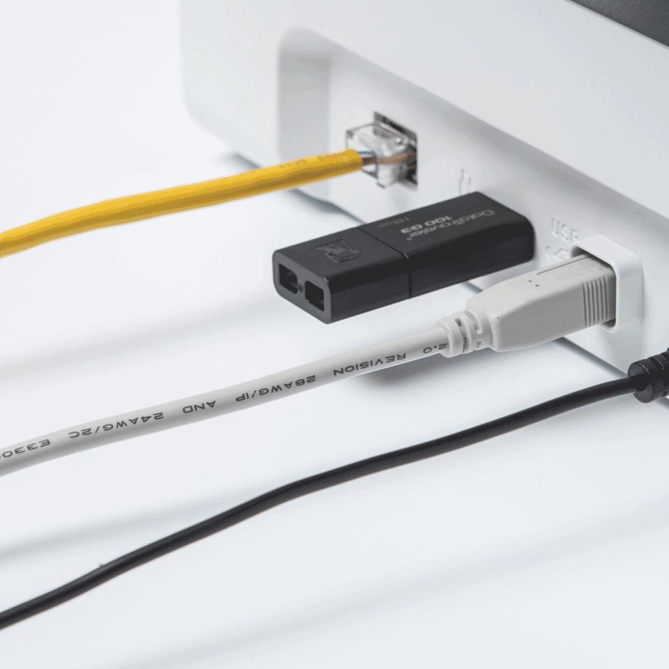 Brother ADS-2700W wireless, networked desktop document scanner 6