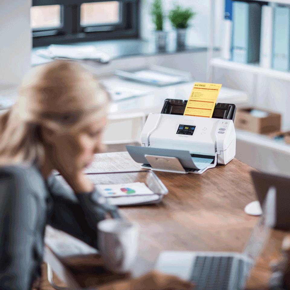 Brother ADS-2700W wireless, networked desktop document scanner 8