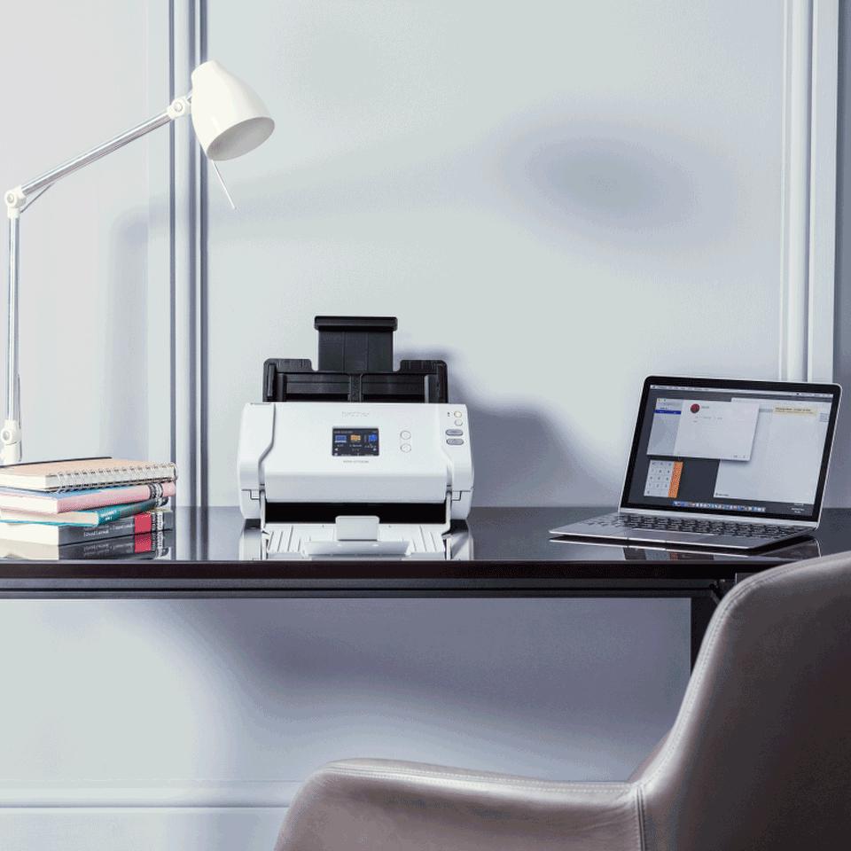 Brother ADS-2700W wireless, networked desktop document scanner 11