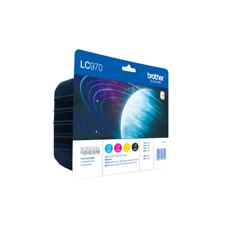 Genuine Brother LC970VALBP Ink Cartridge Multipack  2