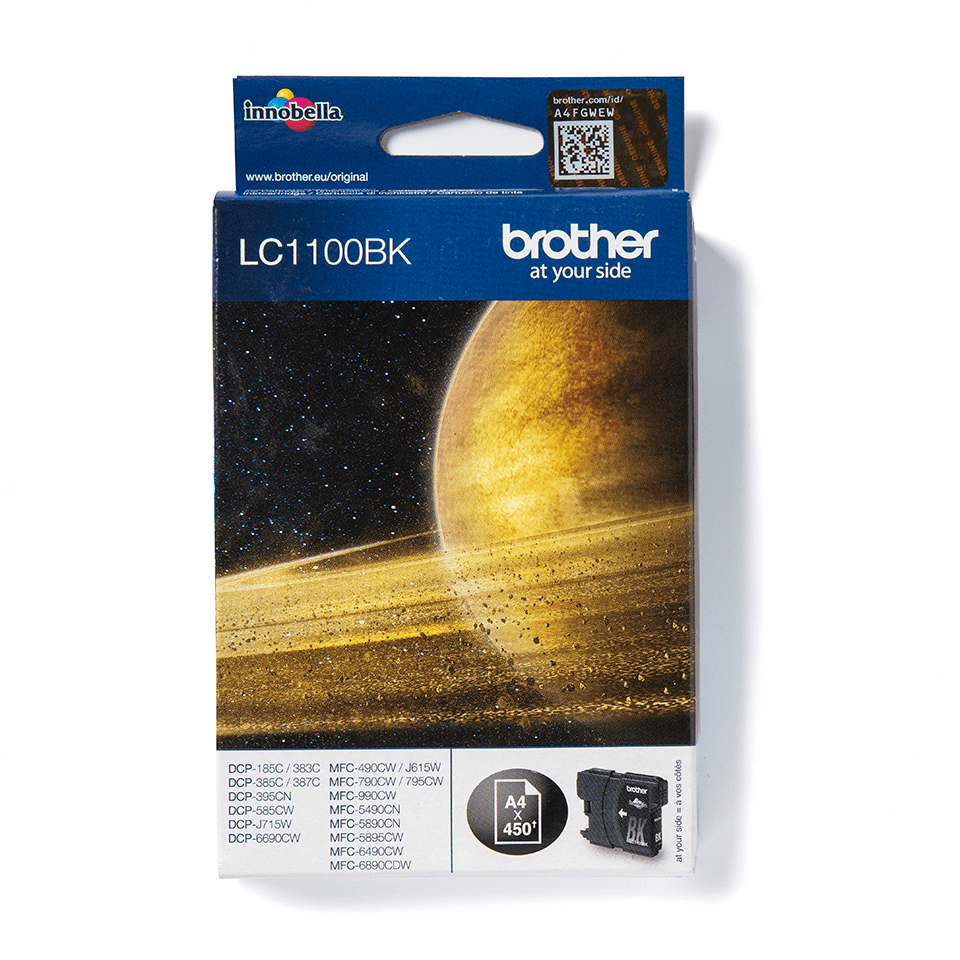 Genuine Brother LC1100BK Ink Cartridge – Black