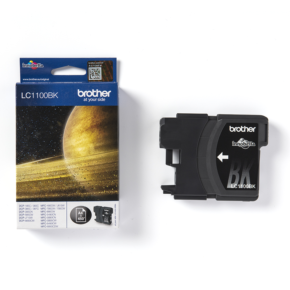 Genuine Brother LC1100BK Ink Cartridge – Black 3