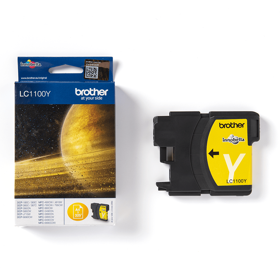 Genuine Brother LC1100Y Ink Cartridge – Yellow 3