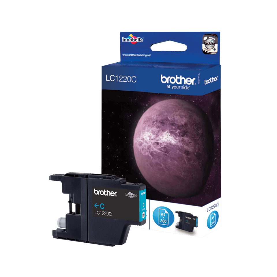 Genuine Brother LC1220C Ink Cartridge – Cyan