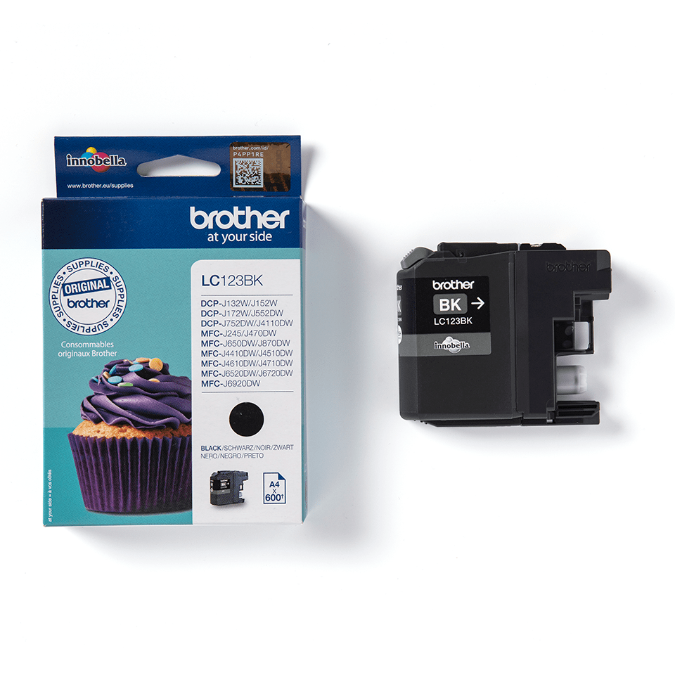 Genuine Brother LC123BK Ink Cartridge – Black 2