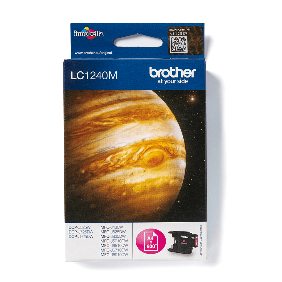 Genuine Brother LC1240M Ink Cartridge – Magenta
