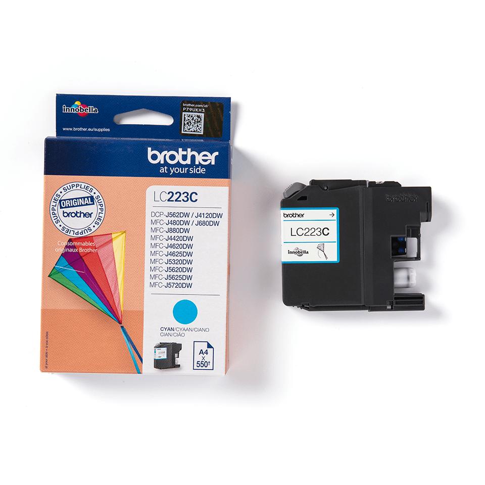 Genuine Brother LC223C Ink Cartridge – Cyan 3