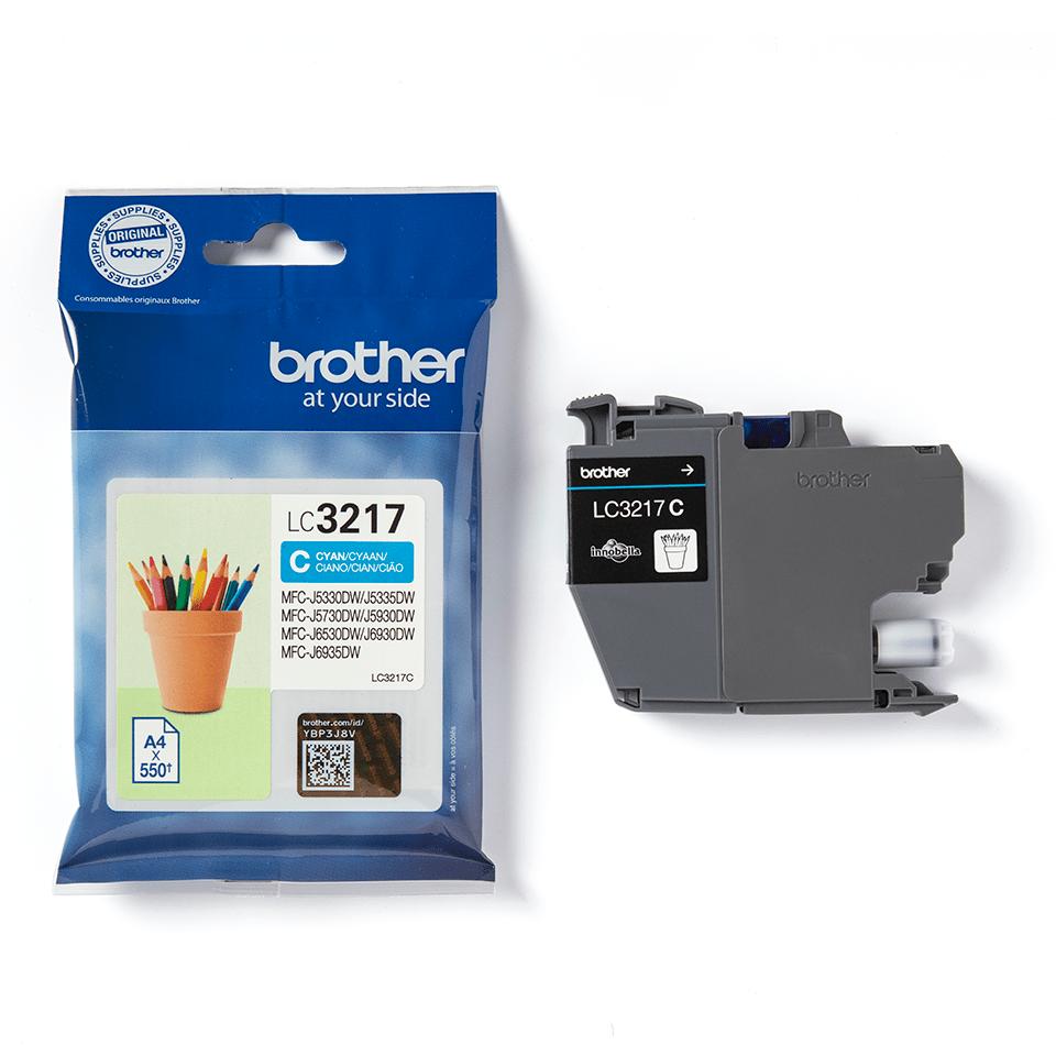 Genuine Brother LC3217C Ink Cartridge – Cyan 3