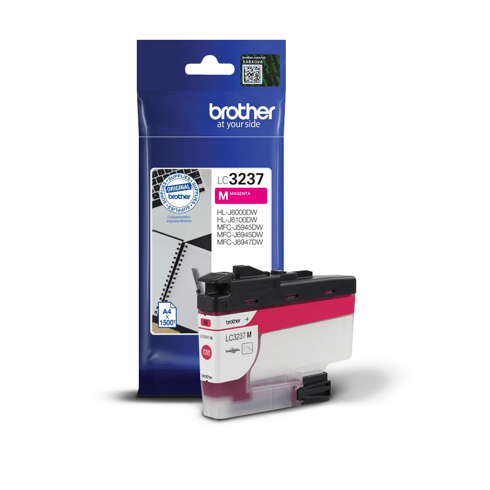 Genuine Brother LC3237M ink cartridge – magenta 2