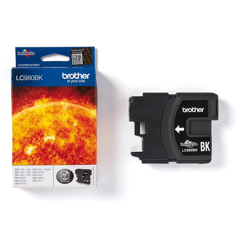 Genuine Brother LC980BK Ink Cartridge – Black  3