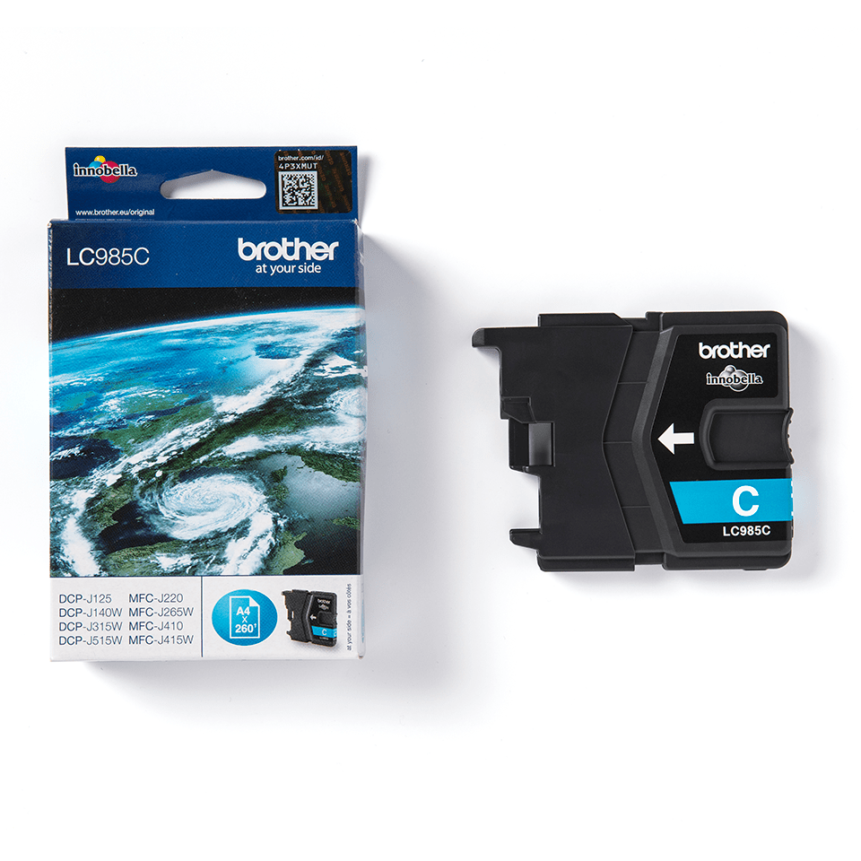 Genuine Brother LC985C Ink Cartridge – Cyan 3