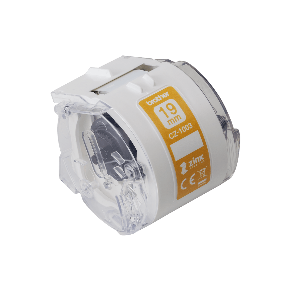 Genuine Brother CZ-1003 full colour continuous label roll, 19mm wide 2